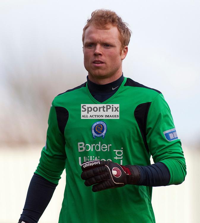 Lee Robinson, Falkirk v QoS, SFL Division 1 League Match, Falkirk Stadium, 25/02/12