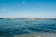 """Bread and tomato beach"" in Bari on 18 August 2019. Christian Mantuano / OneShot"