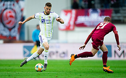 Jan Mlakar of Maribor during Football match between NK Triglav and NK Maribor in 25th Round of Prva liga Telekom Slovenije 2018/19, on April 6, 2019, in Sports centre Kranj, Slovenia. Photo by Vid Ponikvar / Sportida