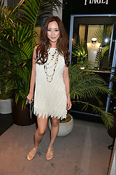 BETTY BACHZ at the Piaget Mediterranean Garden Summer Party held at Piaget, 169 New Bond Street, London on 15th July 2015.