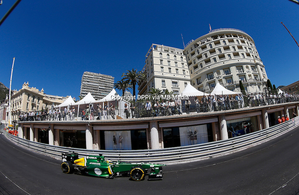 MOTORSPORT - F1 2013 - GRAND PRIX OF MONACO / GRAND PRIX DE MONACO - MONTE CARLO (MON) - 23 TO 26/05/2013 - PHOTO JEAN MICHEL LE MEUR / DPPI - PIC CHARLES (FR) CATERHAM RENAULT CT03 - ACTION