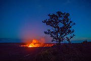 Halemaumau, Crater, KIlauea Volcano, Hawaii Volcanoes National Park, Island of Hawaii, Hawaii