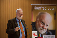 DEU, Deutschland, Germany, Berlin,28.02.2018: Autor Manfred Lütz bei der Buchvorstellung: Taugt das Christentum noch als geistiges Fundament Europas? Der Skandal der Skandale.