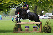 Tottie Williamson riding Castledown Connor during the International Horse Trials at Chatsworth, Bakewell, United Kingdom on 12 May 2018. Picture by George Franks.