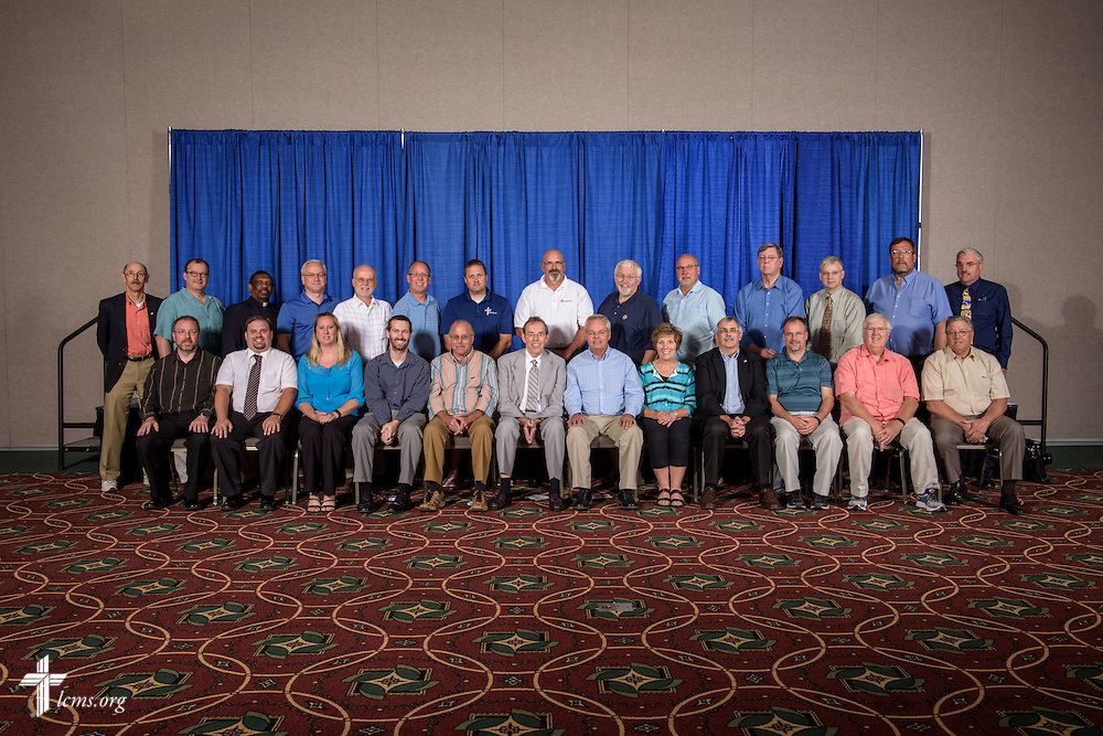 Ohio District group photograph on Sunday, July 10, 2016, at the 66th Regular Convention of The Lutheran Church–Missouri Synod in Milwaukee. LCMS/Erik M. Lunsford