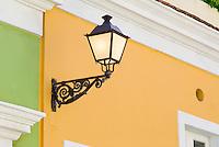 Harmonious pastel colors of Norzagaray Street homes
