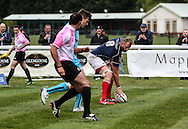 Mark Bright scores the second of his two tries during the Green King IPA Championship Play-Off match between London Scottish &amp; Worcester at Richmond, Greater London on Saturday 2nd May 2015<br /> <br /> Photo: Ken Sparks | UK Sports Pics Ltd<br /> London Scottish v Worcester, Green King IPA Championship, 2nd May 2015<br /> <br /> &copy; UK Sports Pics Ltd. FA Accredited. Football League Licence No:  FL14/15/P5700.Football Conference Licence No: PCONF 051/14 Tel +44(0)7968 045353. email ken@uksportspics.co.uk, 7 Leslie Park Road, East Croydon, Surrey CR0 6TN. Credit UK Sports Pics Ltd