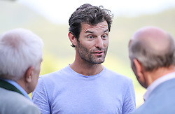19.07.2017, Schloss Pichlarn, Aigen im Ennstal, AUT, Ennstal-Classic 2017, Welcome Evening, im Bild Mark Webber (AUS)// former Australian Formula One driver Mark Webber during the Ennstal-Classic 2017 in Pichlarn Castle, Aigen im Ennstal, Austria on 2017/07/19. EXPA Pictures © 2017, PhotoCredit: EXPA / Martin Huber