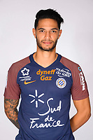 Pedro Mendes during photoshooting of Montpellier Herault  for new season 2017/2018 on September 3, 2017 in Montpellier<br /> Photo : Mhsc / Icon Sport
