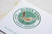 Logo design for Aloha Benry in Honolulu, Hawaii