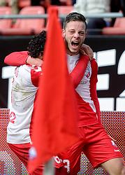 13-12-2015 NED: FC Utrecht - AFC Ajax, Utrecht<br /> Utrecht verslaat Ajax opnieuw in de Galgenwaard 1-0 / Yassin Ayoub #6 scoort de winnende treffer. Bart Ramselaar #23 gaf de assist