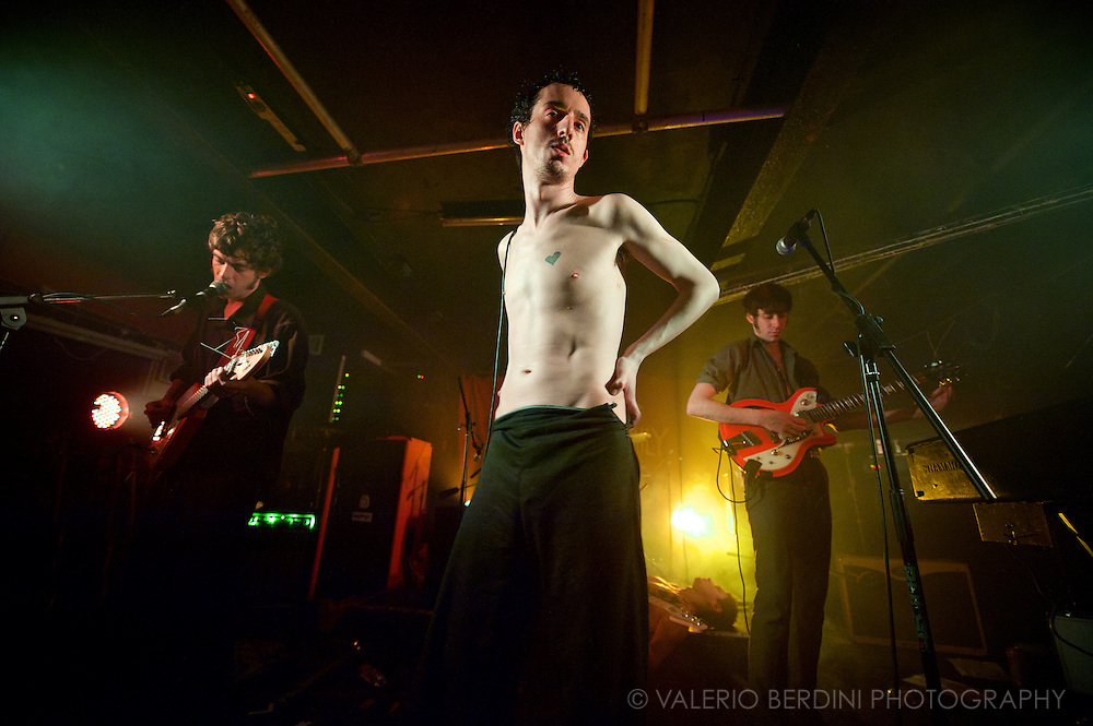 The Fat White Family live at the Electrowerkz in Islington, London on 25 February 2014