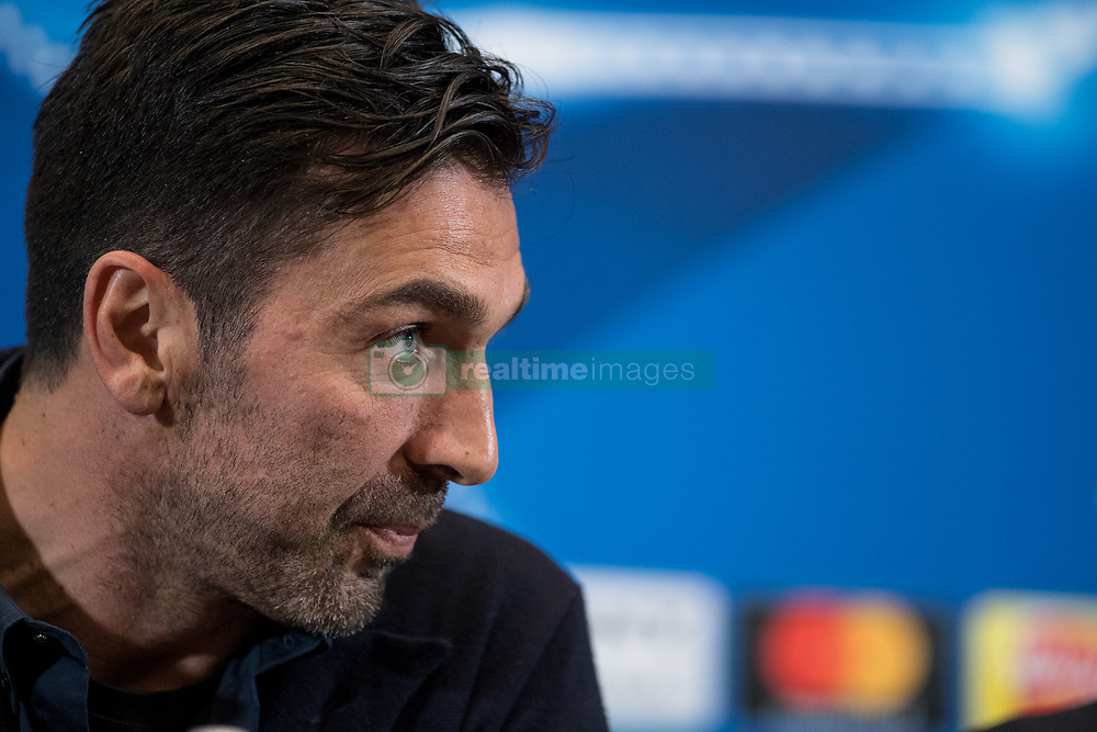 March 6, 2018 - London, UNITED KINGDOM - Gianluigi Buffon of Juventus during the press conference ahead the UEFA Champions League match between Tottenham Hotspur and Juventus at Wembley Stadium, London, England on 6 March 2018. (Credit Image: © Giuseppe Maffia/NurPhoto via ZUMA Press)