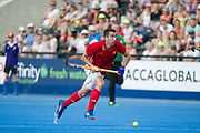 England's David Condon. England v Argentina - Hockey World League Semi Final, Lee Valley Hockey and Tennis Centre, London, United Kingdom on 18 June 2017. Photo: Simon Parker