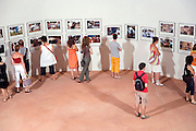 Perpignan Visa Pour L'Image 2007 Couvent des Minimus showing photographs by Carolyn Cole
