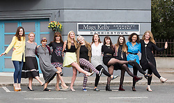 Repro Free: 15/09/2014 <br /> Aoibheann McCaul (Caoimhe Dillon), Clelia Murphy (Niamh Brennan), Martina Stanley (Dolores Molloy), Rachel Pilkington (Jane Black), Jenny Dixon (Kerri-Ann Boyle), Caroline Heavey (Farrah Phelan), Niamh Daly (Debbie O&rsquo;Brien), Amilia Clarke Stewart (Katy O&rsquo;Brien), Nimah Quirke (Rachel Brennan), Donna Nikolaisen (Ama) and Rachel Sarah Murphy (Jo Fahey) are pictured on the set of Fair City to celebrate its 25th anniversary and pay tribute to Ireland&rsquo;s most popular and longest running soap. Picture Andres Poveda