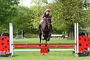 *** during the International Horse Trials at Chatsworth, Bakewell, United Kingdom on 11 May 2018. Picture by George Franks.