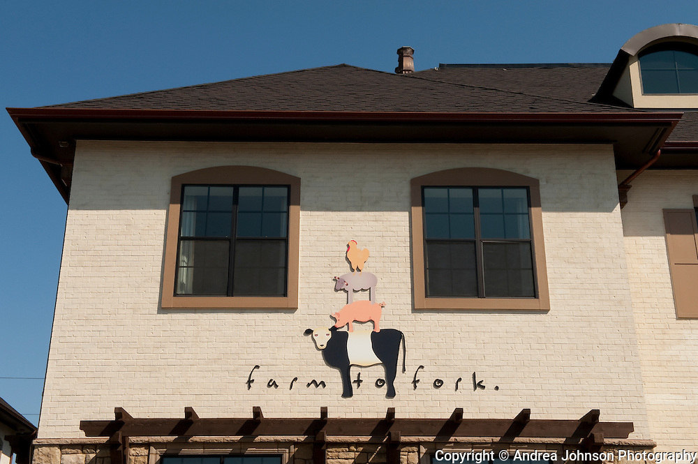 Farm to Fork restaurant, Dundee, Willamette Valley, Oregon
