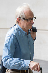 London, June 11th 2017. Film director and ardent Corbyn supporter Ken Loach, (I, Daniel Blake - 2016) arrives at the BBC's Portland Place Headquarters