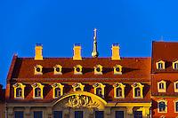Rooftops, Dresden, Saxony, Germany
