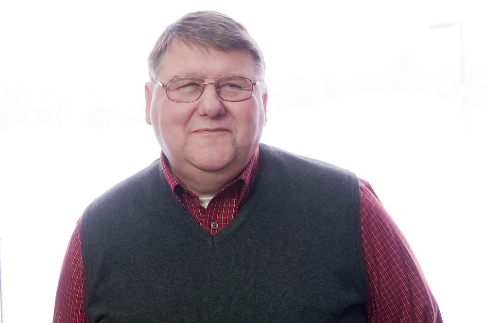 Henry Knoch, technology director at Rapid River School District in Rapid River, Michigan.