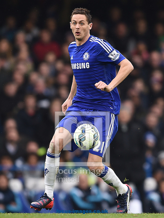 Nemanja Matic of Chelsea during the Barclays Premier League match against Southampton at Stamford Bridge, London<br /> Picture by Andrew Timms/Focus Images Ltd +44 7917 236526<br /> 15/03/2015