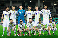 Players of Maribor during Football match between NK Olimpija and NK Maribor in 23rd Round of Prva liga Telekom Slovenije 2018/19 on March 16, 2019, in SRC Stozice, Ljubljana, Slovenia. Photo by Vid Ponikvar / Sportida