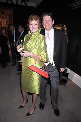 JOHN MADEJSKI and tv presenter CILLA BLACK at the annual Sotheby's Summer Party held at their auction rooms 34-35 New Bond Street, London W1 on 19th June 2008.<br /><br />NON EXCLUSIVE - WORLD RIGHTS