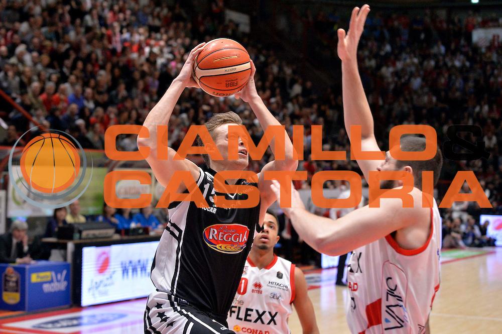 Viktor Gaddefors<br /> The FlexX Pistoia Basket - Pasta Reggia Juve Caserta<br /> Lega Basket Serie A 2016/2017<br /> Pistoia 13/02/2017<br /> Foto Ciamillo-Castoria