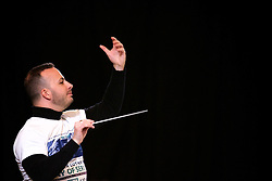 Philadelphia, PA, USA - January 18, 2016; Music director Yannick Nézet-Séguin conducts the Philadelphia Orchestra during the free performance of the 26th Annual Martin Luther King Jr. Tribute Concert in Philadelphia, PA.
