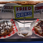 Fried Oreos and other fried foods are a boardwalk specialty.<br />