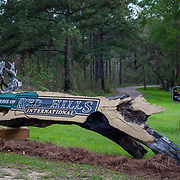 Main enterance at the Red Hills International Horse Trials in Tallahassee, Florida.