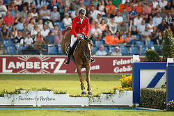 Bucci Piergiorgio, (ITA), Catwalk Z<br /> Team completion and 2nd individual qualifier<br /> FEI European Championships - Aachen 2015<br /> © Hippo Foto - Dirk Caremans<br /> 20/08/15
