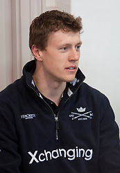 © Licensed to London News Pictures. 05/04/2012. London, U.K..Karl Hudspith from the Oxford crew at The Xchanging Oxford & Cambridge University Boat Race - press conference. The crews meet the press to discuss the boat race on saturday 7th April...Photo credit : Rich Bowen/LNP