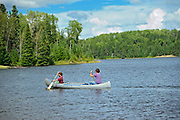 CAnoeing on Lac Seul<br />