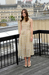 "Image ©Licensed to i-Images Picture Agency. 02/07/2014. London, United Kingdom. Kiera Knightley during ""Begin Again"" Photocall held on the rooftop of <br /> Picturehouse Cinemas. Picture by Chris Joseph / i-Images"