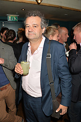 MARK HIX at the launch of Thomasina Miers's new book Chilli Notes held at Wahaca, 19-23 Charlotte Street, London W1 on 6th May 2014.