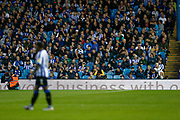 Fans of Sheffield Wednesday watch on during the EFL Sky Bet Championship match between Sheffield Wednesday and Luton Town at Hillsborough, Sheffield, England on 20 August 2019.