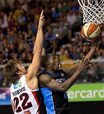 Auckland-Basketball, Breakers v Wildcats, ANBL 2011-12 Round 18