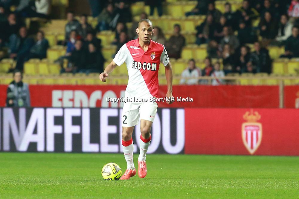 FABINHO - 13.03.2015 -   Monaco / Bastia -  29eme journee de Ligue 1 <br />Photo : Serge Haouzi / Icon Sport
