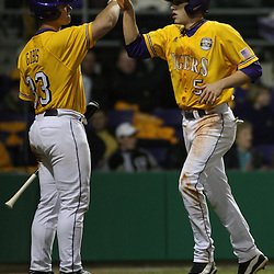 2009 February 20: during a NCAA baseball match up between the #1 ranked LSU Tiger and the unranked Villanova Wilcats at the newly constructed Alex Box Stadium in Baton Rouge, Louisiana..
