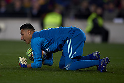 February 6, 2019 - Barcelona, Barcelona, Spain - Keylor Navas of Real Madrid during the Spanish Cup (King's cup), first leg semi-final match between FC Barcelona and  Real Madrid at Camp Nou stadium on February 6, 2019 in Barcelona, Spain. (Credit Image: © Jose Breton/NurPhoto via ZUMA Press)