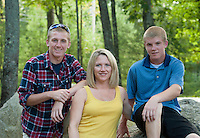 Amy, Nick and Daniel portrait session