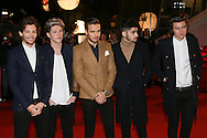 CANNES, FRANCE - DECEMBER 14:  Liam Payne, Harry Styles, Zayn Malik, Niall Horan and Louis Tomlinson of One Direction Band arrive at the 15th NRJ Music Awards at the Palais des Festivals on December 14, 2013 in Cannes, France.  (Photo by Tony Barson/FilmMagic)