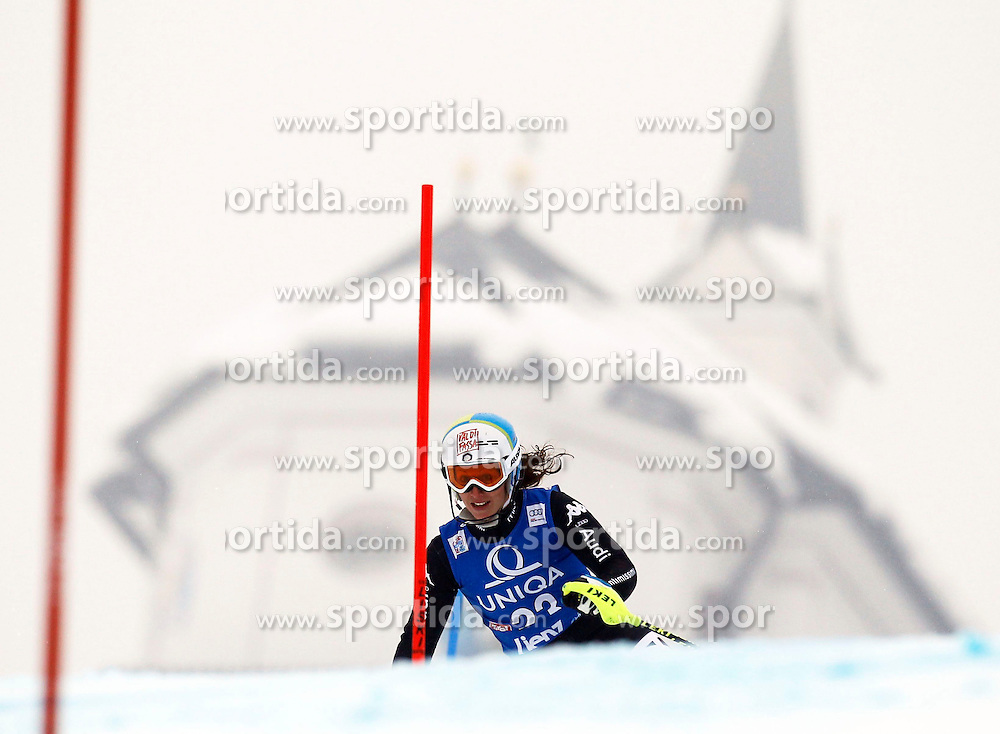 29.12.2013, Hochstein, Lienz, AUT, FIS Weltcup Ski Alpin, Damen, Slalom 1. Durchgang, im Bild Chiara Costazza (ITA) // Chiara Costazza of (ITA) during ladies Slalom 1st run of FIS Ski Alpine Worldcup at Hochstein in Lienz, Austria on 2013/12/29. EXPA Pictures © 2013, PhotoCredit: EXPA/ Oskar Höher