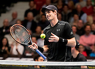 Andy Murray during the Tie Break Tens competition at the Erste Bank Open 500 at the Wiener Stadthalle, Vienna, Austria.<br /> Picture by EXPA Pictures/Focus Images Ltd 07814482222<br /> 23/10/2016<br /> *** UK & IRELAND ONLY ***<br /> <br /> EXPA-PUC-161024-0079.jpg
