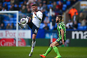 Bolton Wanderers striker Gary Madine (14)  in a action  during the EFL Sky Bet League 1 match between Bolton Wanderers and AFC Wimbledon at the Macron Stadium, Bolton, England on 4 March 2017. Photo by Simon Davies.