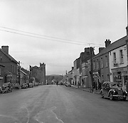 Towns in Ireland, Main Street Ardee, Co. Louth.04/04/1957 <br />