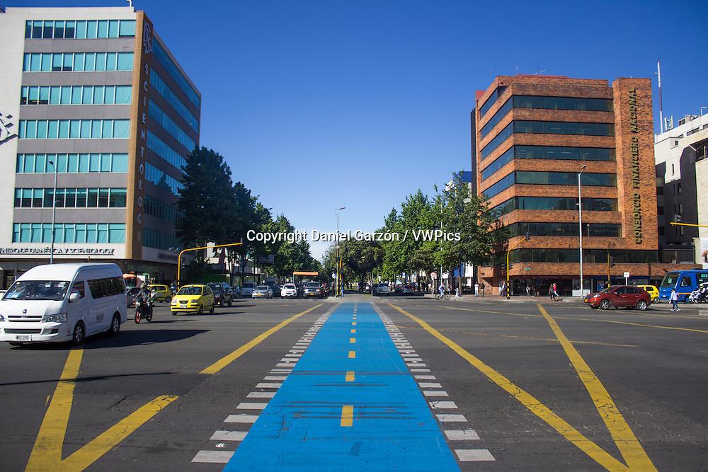 A sunny day in Bogotá