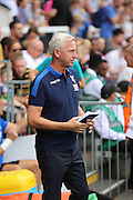 Crystal Palace manager, Alan Pardew during the Pre-Season Friendly match between Fulham and Crystal Palace at Craven Cottage, London, England on 30 July 2016. Photo by Matthew Redman.